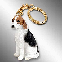 American Fox Hound Key Chain