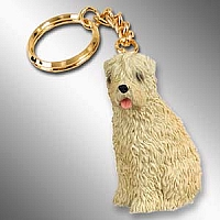Soft Coated Wheaten Terrier Key Chain