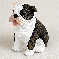 Bulldog Brindle Tiny One Figurine