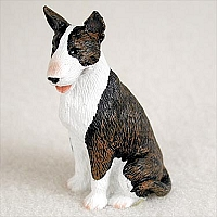 Bull Terrier Brindle Tiny One Figurine