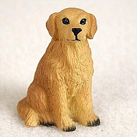 Golden Retriever Tiny One Figurine