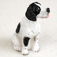 Pointer Black & White Tiny One Figurine