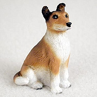 Collie Smoth Hair Tiny One Figurine