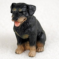 Rottweiler Tiny One Figurine