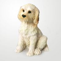 Labradoodle Cream Tiny One Figurine