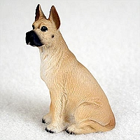 Great Dane Fawn Tiny One Figurine