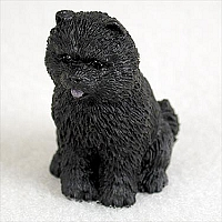 Chow Black Tiny One Figurine