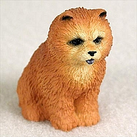 Chow Red Tiny One Figurine