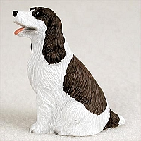Springer Spaniel Liver & White Tiny One Figurine