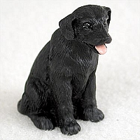 Labrador Retriever Black Tiny One Figurine