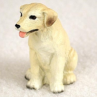 Labrador Retriever Yellow Tiny One Figurine