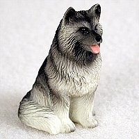 Keeshond Tiny One Figurine