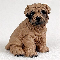 Shar Pei Brown Tiny One Figurine