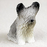 Skye Terrier Tiny One Figurine