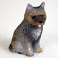 Cairn Terrier Brindle Tiny One Figurine