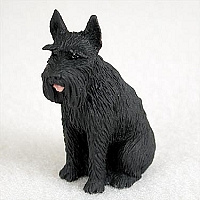 Schnauzer Giant Black Tiny One Figurine