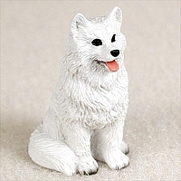 American Eskimo Tiny One Figurine