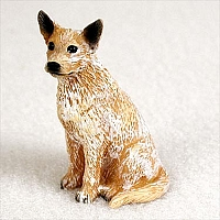 Australian Cattle Red Dog Tiny One Figurine