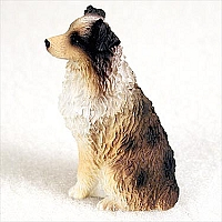 Australian Shepherd Brown w/Docked Tail Tiny One Figurine