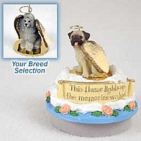 Poodle Gray Candle Topper Tiny One Pet Angel Ornament