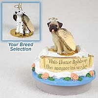 Dalmatian Candle Topper Tiny One Pet Angel Ornament