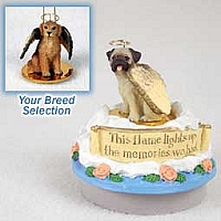 Golden Retriever Candle Topper Tiny One Pet Angel Ornament
