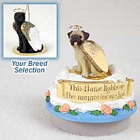 Great Dane Black w/Uncropped Ears Candle Topper Tiny One Pet Angel Ornament