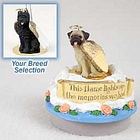 Bouvier des Flandres Candle Topper Tiny One Pet Angel Ornament
