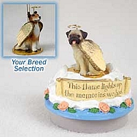 Collie Smoth Hair Candle Topper Tiny One Pet Angel Ornament