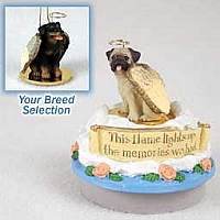 Rottweiler Candle Topper Tiny One Pet Angel Ornament