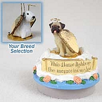 Sealyham Terrier Candle Topper Tiny One Pet Angel Ornament