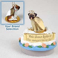 Beagle Candle Topper Tiny One Pet Angel Ornament