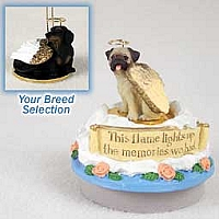 Dachshund Black Candle Topper Tiny One Pet Angel Ornament