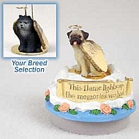 Chow Blue Candle Topper Tiny One Pet Angel Ornament