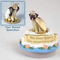 Labrador Retriever Yellow Candle Topper Tiny One Pet Angel Ornament