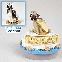 Boxer Brindle Candle Topper Tiny One Pet Angel Ornament