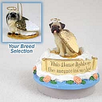 Pekingese Candle Topper Tiny One Pet Angel Ornament