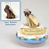 Irish Setter Candle Topper Tiny One Pet Angel Ornament