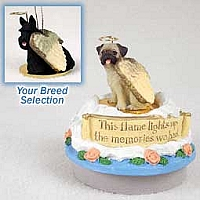 Scottish Terrier Candle Topper Tiny One Pet Angel Ornament