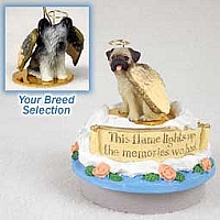 Skye Terrier Candle Topper Tiny One Pet Angel Ornament