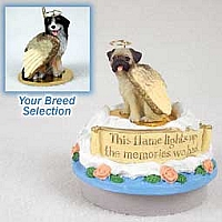 Bernese Mountain Dog Candle Topper Tiny One Pet Angel Ornament