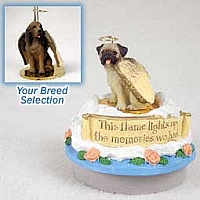Bloodhound Candle Topper Tiny One Pet Angel Ornament