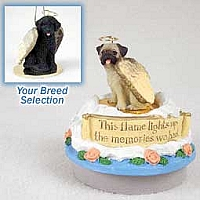 Portuguese Water Dog Candle Topper Tiny One Pet Angel Ornament