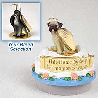 Irish Wolfhound Candle Topper Tiny One Pet Angel Ornament