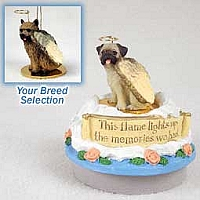Norwich Terrier Candle Topper Tiny One Pet Angel Ornament
