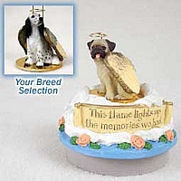 English Setter Belton Blue Candle Topper Tiny One Pet Angel Ornament