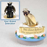 Australian Cattle BlueDog Candle Topper Tiny One Pet Angel Ornament