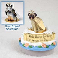 Silky Terrier Candle Topper Tiny One Pet Angel Ornament