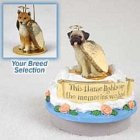 Shiba Inu Candle Topper Tiny One Pet Angel Ornament