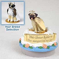 Australian Shepherd Blue Candle Topper Tiny One Pet Angel Ornament